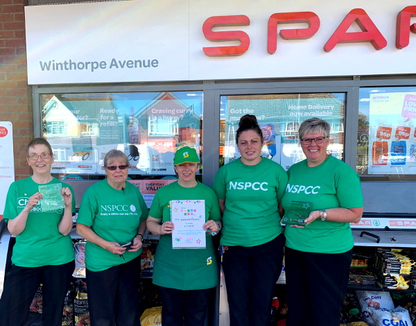 1st place fundraiser - SPAR Winthorpe Avenue
