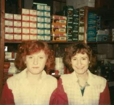 Annette and Barb