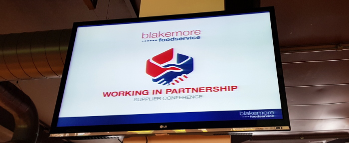 Blakemore Foodservice Working in Partnership Supplier Conference