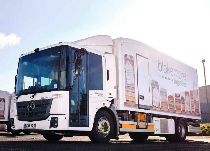 Blakemore Logistics Econic vehicle