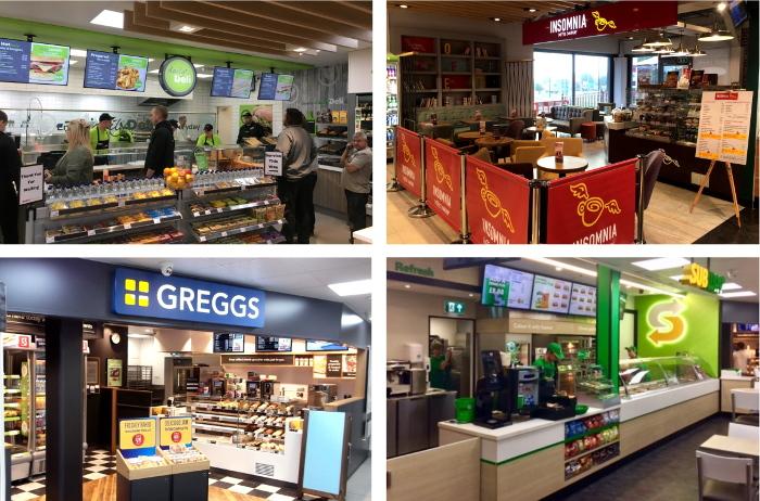Blakemore Retail food service