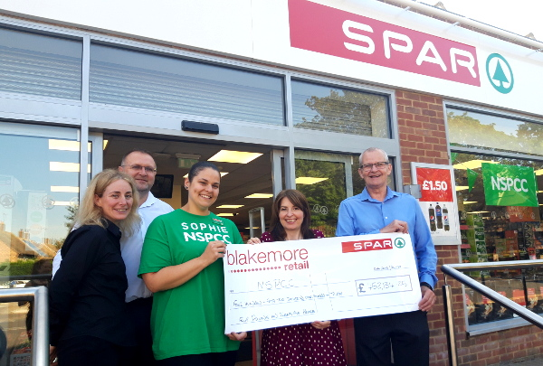 Blakemore Retail fundraises £452,000 for NSPCC