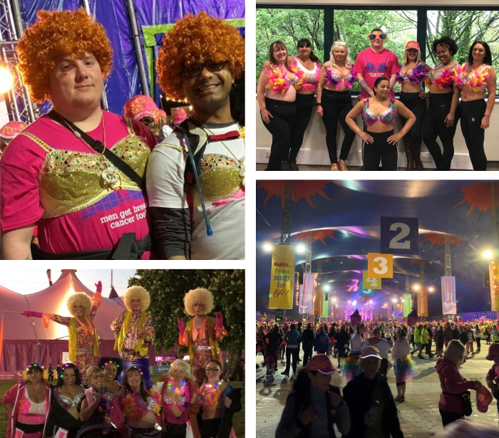 Blakemore colleagues take on MoonWalk London