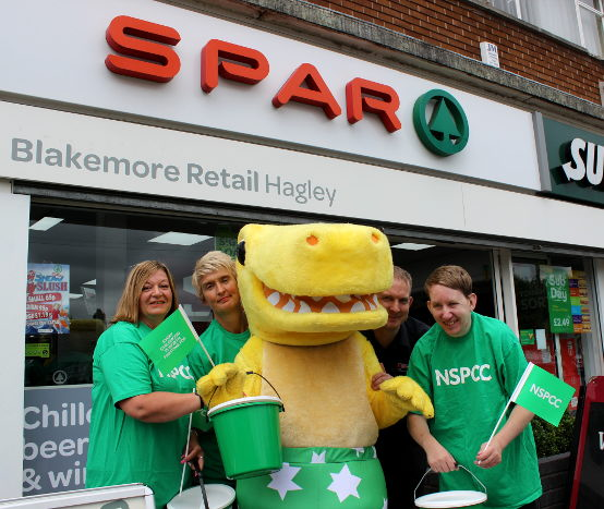 Colleague NSPCC fundraising