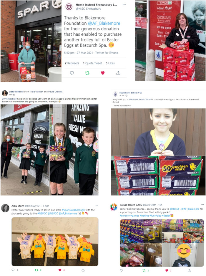 Easter social media posts