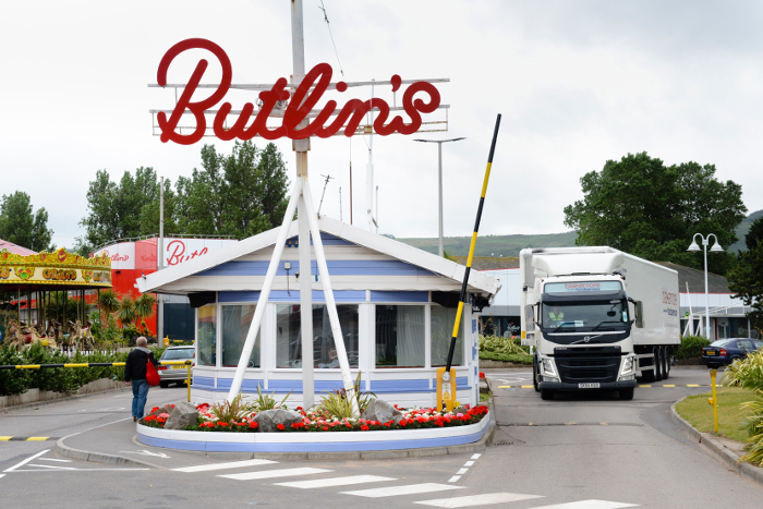 Delivering to leisure sites