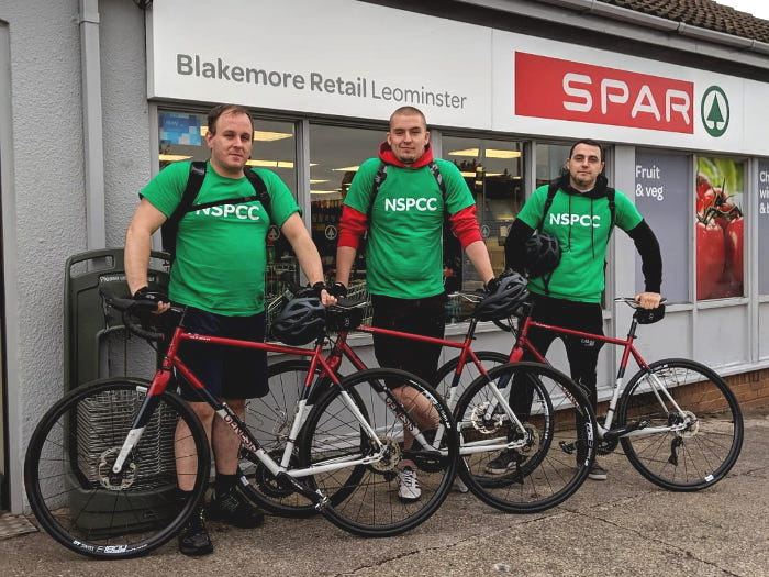 NSPCC bike ride
