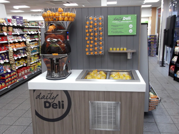New Daily Deli juice bar