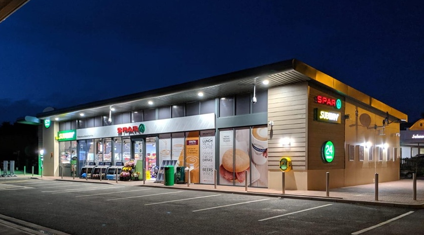 SPAR Bentley forecourt