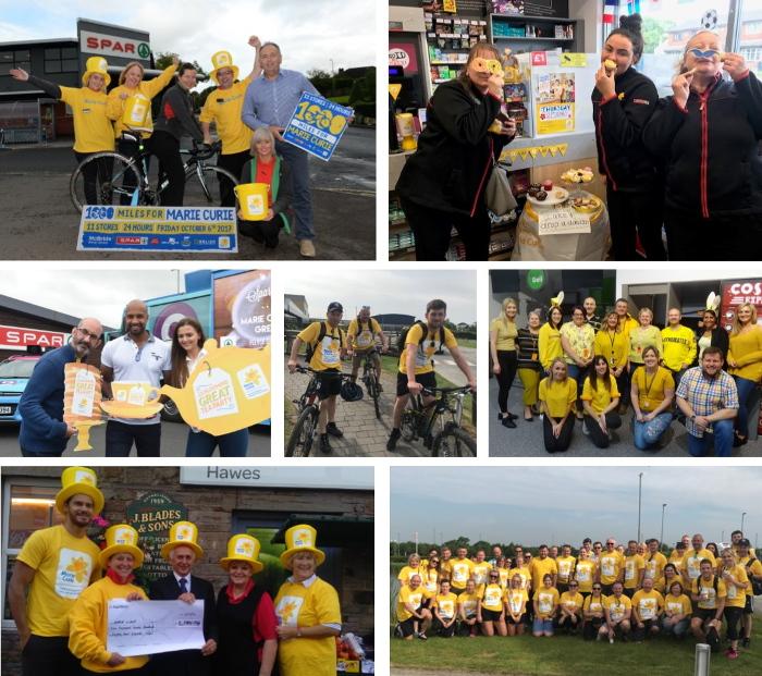 SPAR Marie Curie fundraising