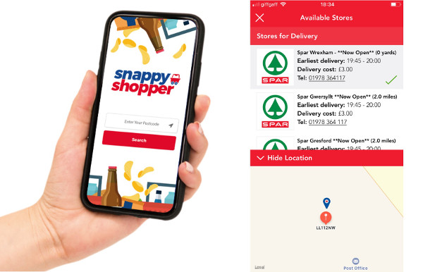 SPAR on Snappy Shopper
