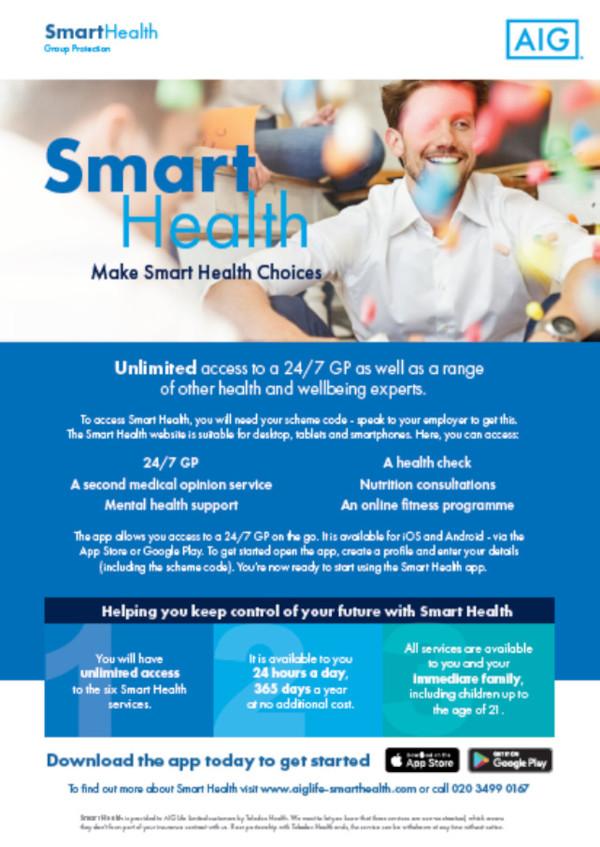 Smart Health flyer