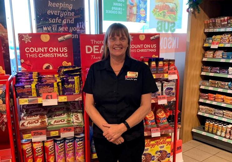 Store manager Linda