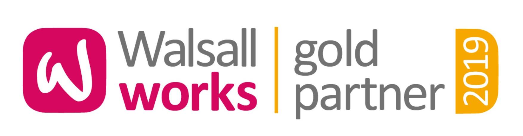 Walsall Works Gold Partner Award