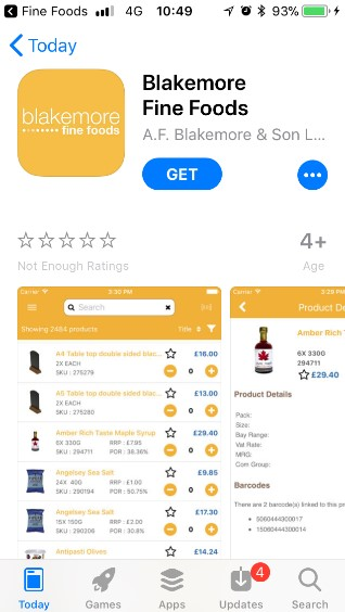 Blakemore_Fine_Foods_App