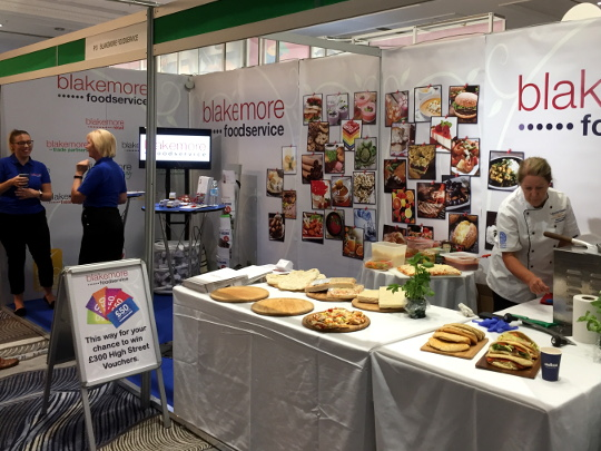 Blakemore_Foodservice_exhibit_at_LACA_Main_Event