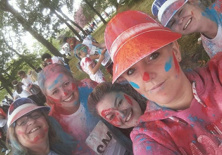 Middlesbrough Colleagues at the Colour Run