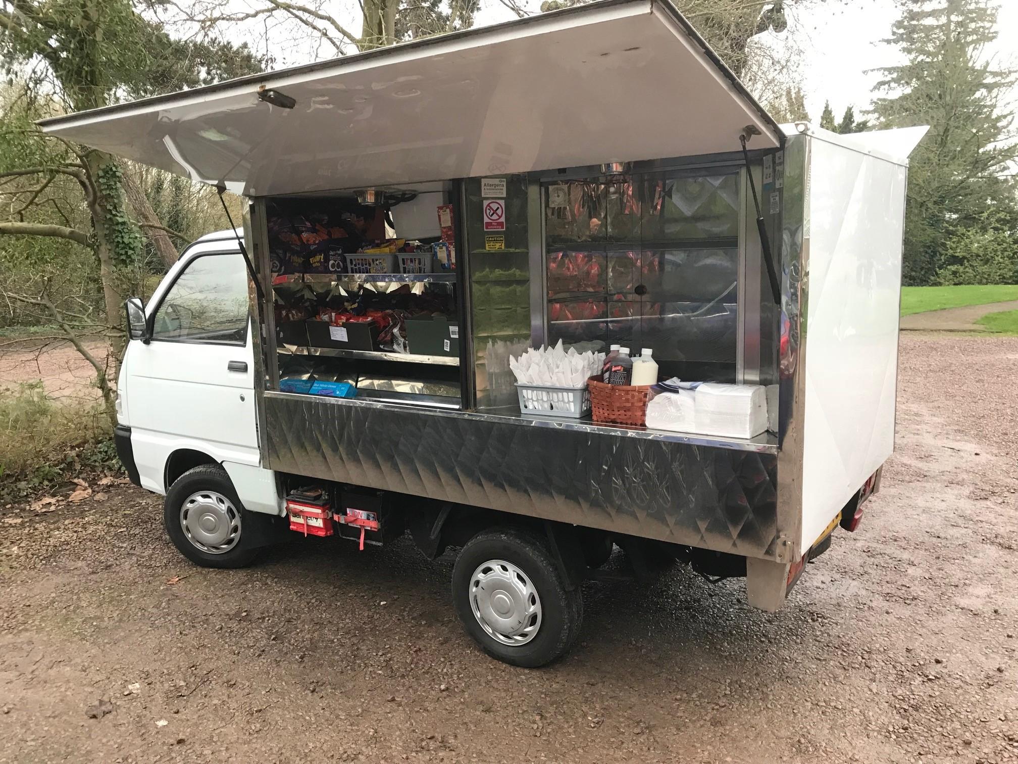 Worcestershire Homeless Appeal food van