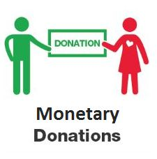 Monetary donations