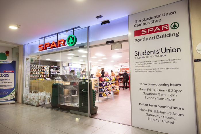 SPAR_Nottingham_University
