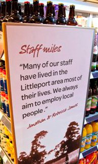 SPAR supporting local people