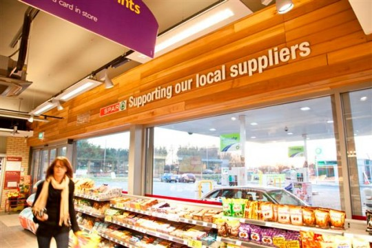 SPAR supporting local suppliers