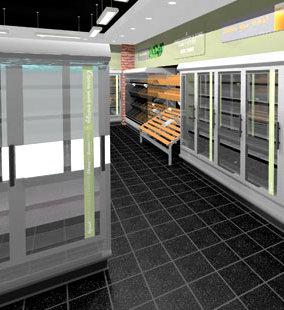 CSL Shopfitting 3D visual