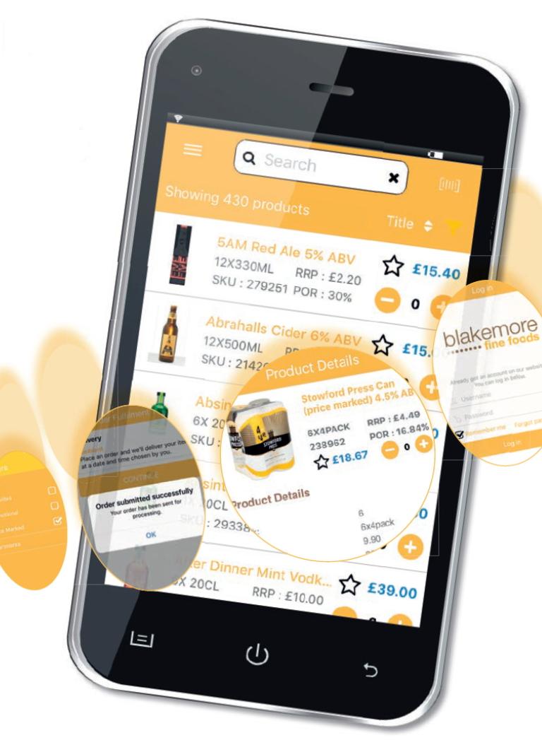 The_new_Blakemore_Fine_Foods_app
