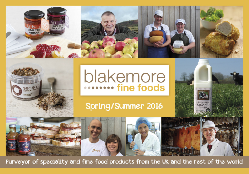 Blakemore Fine Foods Spring Summer Catalogue 2016