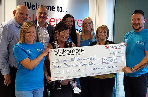 Blakemore Foodservice has won national awards for its employee volunteering programme