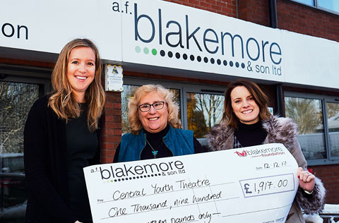 The Blakemore Foundation helps good causes supported by our staff, customers & local communities